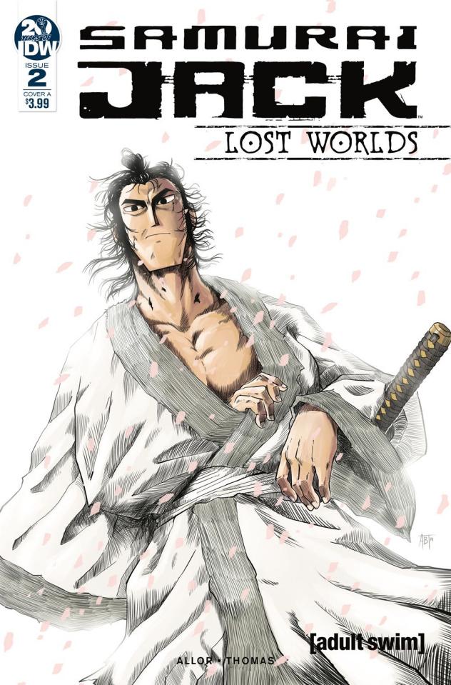 Samurai Jack: Lost Worlds #2 (Thomas Cover)