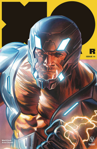 X-O Manowar #14 (50 Copy Icon Massafera Cover)
