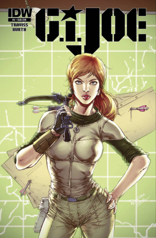 G.I. Joe #4 (Subscription Cover)