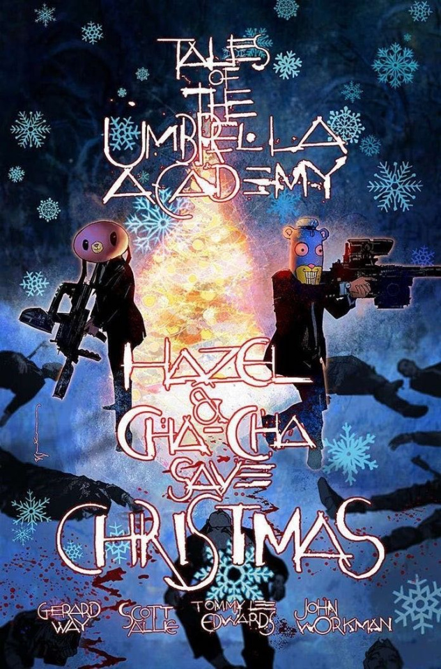 Hazel & Cha Cha Save Christmas: Tales of the Umbrella Academy