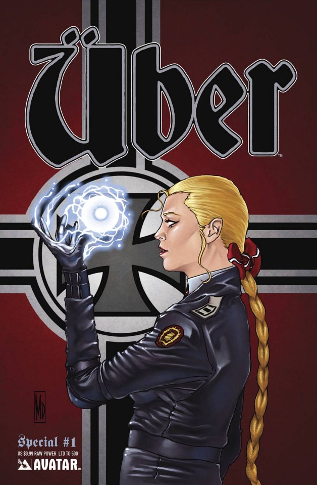 Über Special #1 (Raw Power Cover)