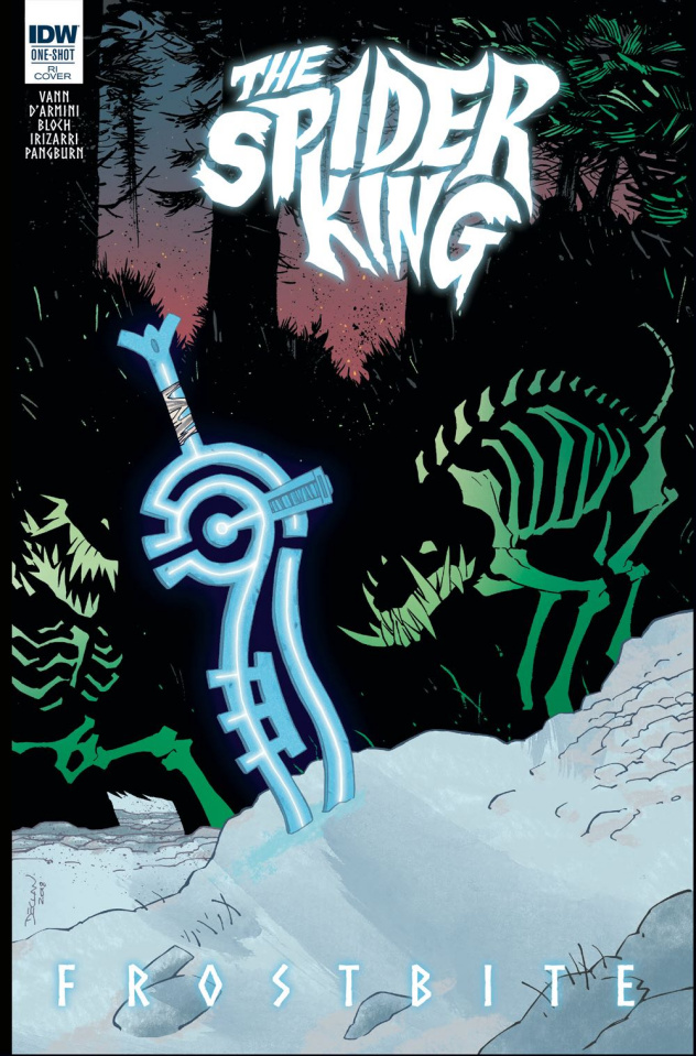 The Spider King: Frostbite (10 Copy Shalvey Cover)