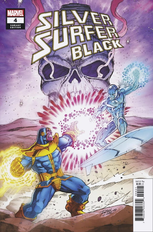 Silver Surfer: Black #4 (Lim Cover)