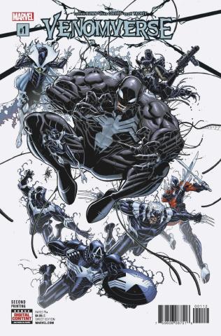 Venomverse #1 (Bradshaw 2nd Printing)