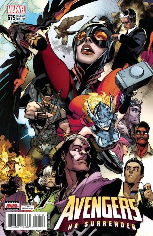 Avengers #675 (3rd Printing)