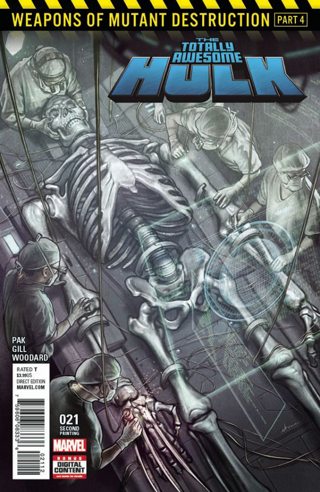 Totally Awesome Hulk #21 (2nd Printing Stonehouse Cover)