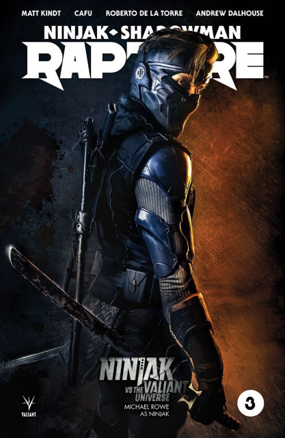 Rapture #3 (Ninjak vs. The Valiant Universe Cover)