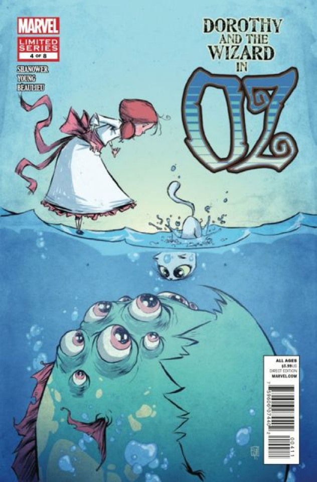 Dorothy and the Wizard in Oz #4