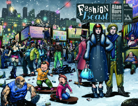 Fashion Beast #8 (Wrap Cover)