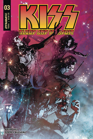 KISS: Blood and Stardust #3 (Sayger Cover)