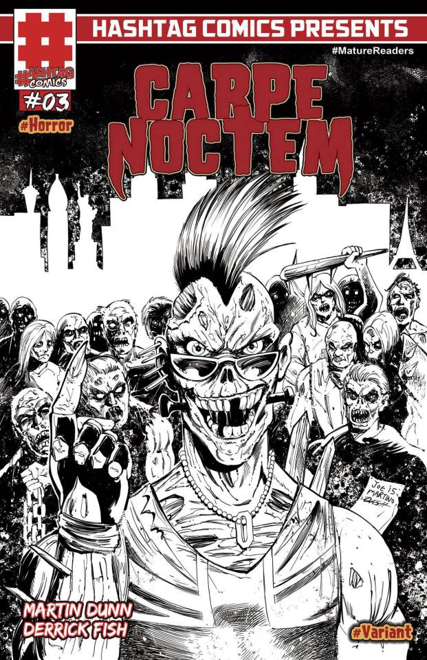 Carpe Noctem #3 (5 Copy Cover)