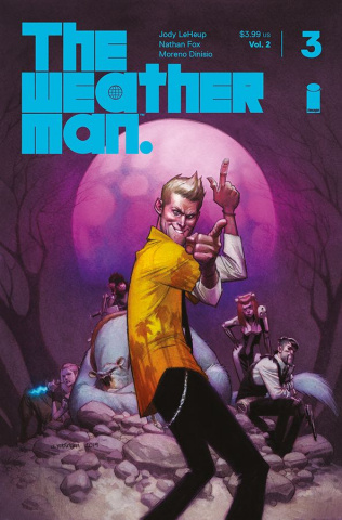 The Weatherman #3 (Robinson Cover)