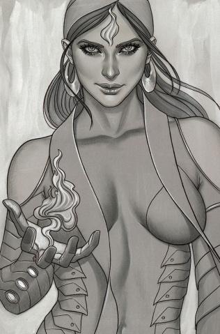 Devi: Rebirth #1 (Frison Sketch Cover)
