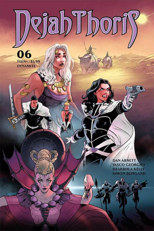 Dejah Thoris #6 (Georgiev Cover)