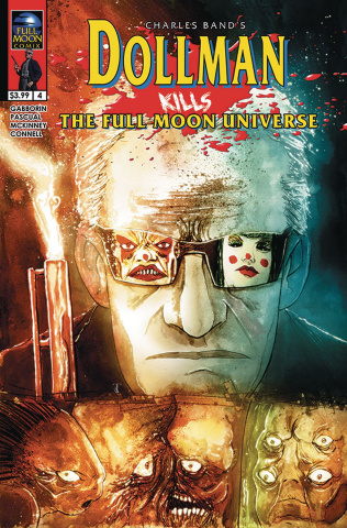 Dollman Kills the Full Moon Universe #4 (Templesmith Cover)