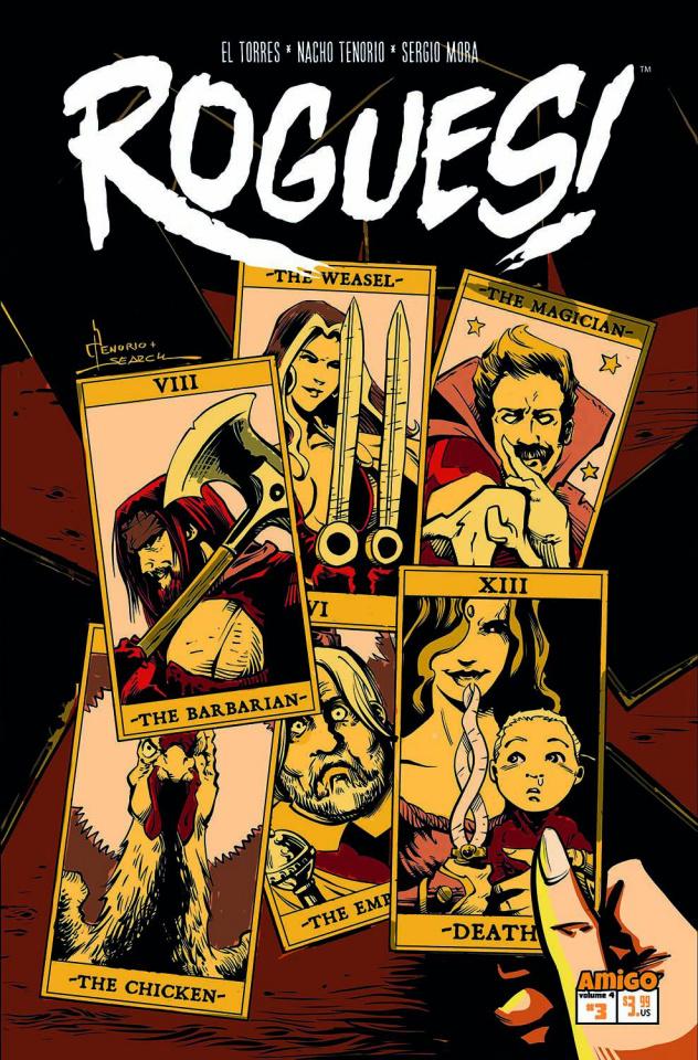 Rogues! #3: Odd Parenthood