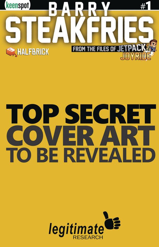 Barry Steakfries #1 (Golden Piggy Pack Retailer Cover)