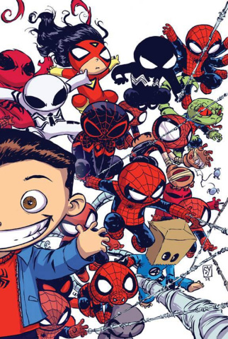The Amazing Spider-Man #9 (Young Interlocking Cover B)