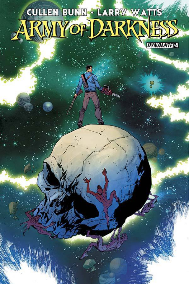 Army of Darkness #4 (Seeley Cover)