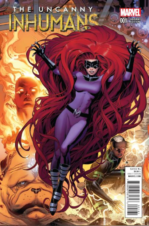 The Uncanny Inhumans #1 (Cheung Connecting Cover)
