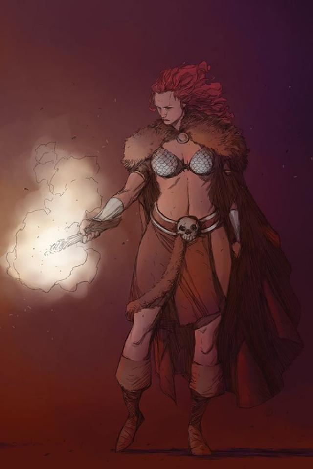 Red Sonja #7 (40 Copy Pham Virgin Cover)