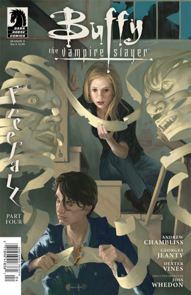 Buffy the Vampire Slayer, Season 9: Freefall #4 (Morris Cover)