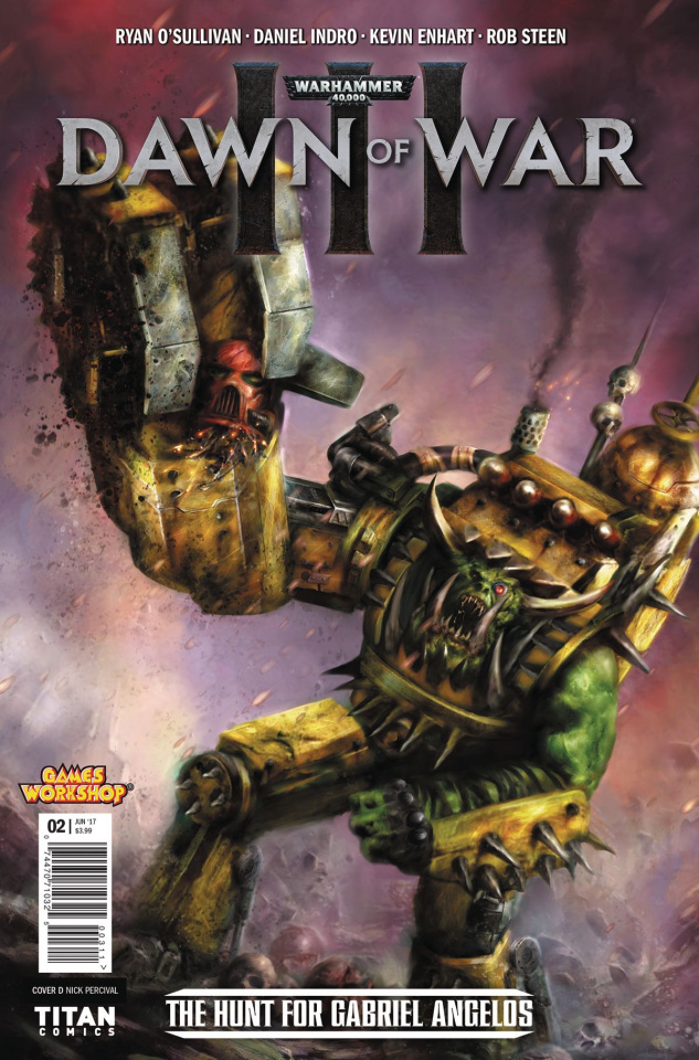 Warhammer 40,000: Dawn of War III #2 (Percival Cover)
