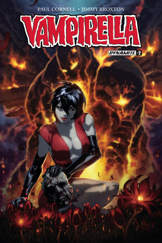 Vampirella #2 (Tan Cover)