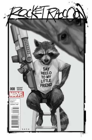 Rocket Raccoon #8 (Noto Cover)