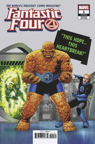 Fantastic Four #1 (Cassaday Cover)