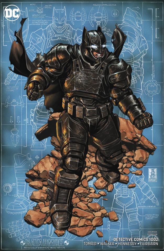 Detective Comics #1002 (Variant Cover)