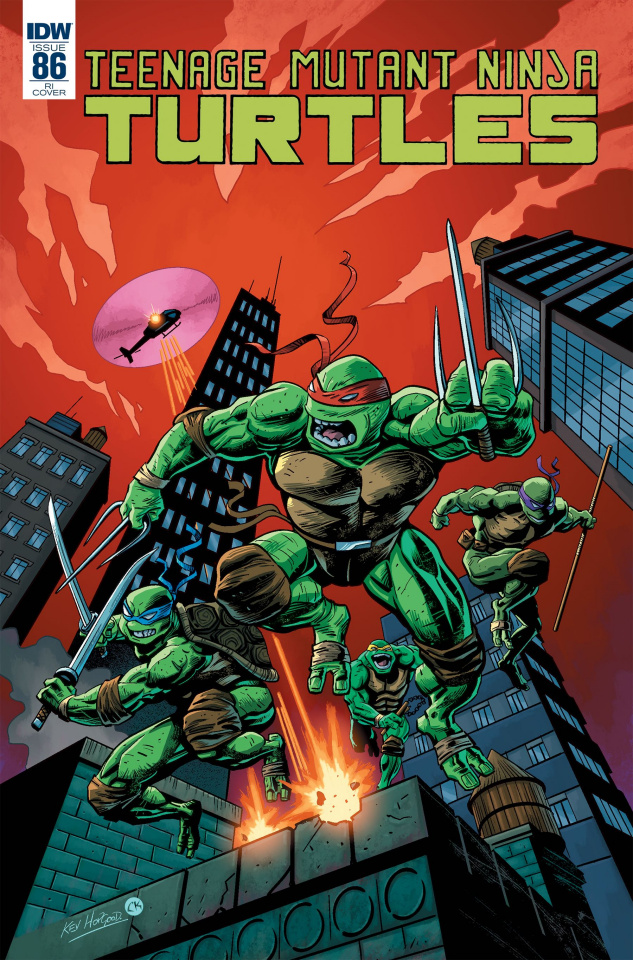 Teenage Mutant Ninja Turtles #86 (10 Copy Hopgood Cover)