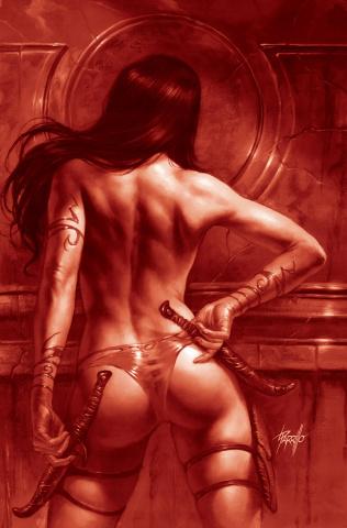 Dejah Thoris #10 (21 Copy Parrillo Tint Virgin Red Cover)