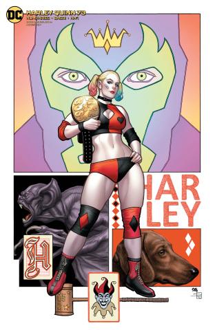 Harley Quinn #73 (Frank Cho Cover)