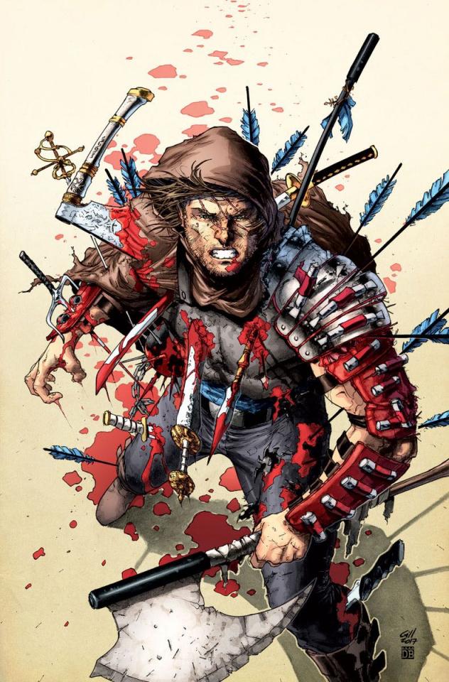 Eternal Warrior: Awakening #1 (Gill Cover)
