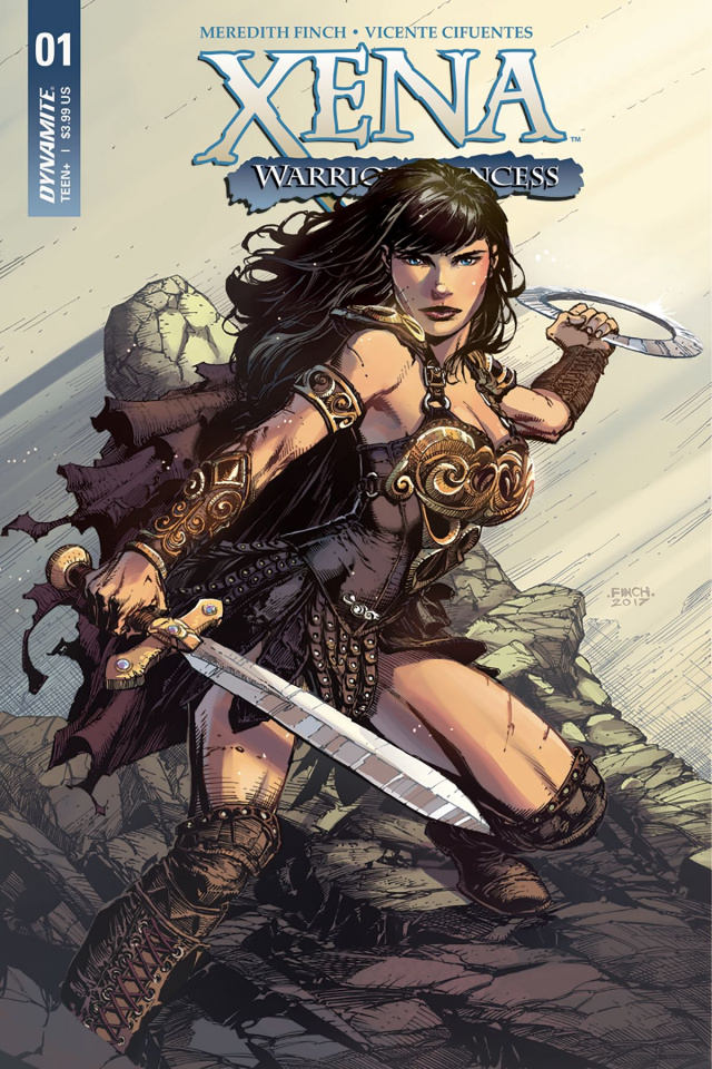 Xena #1 (Finch Cover)