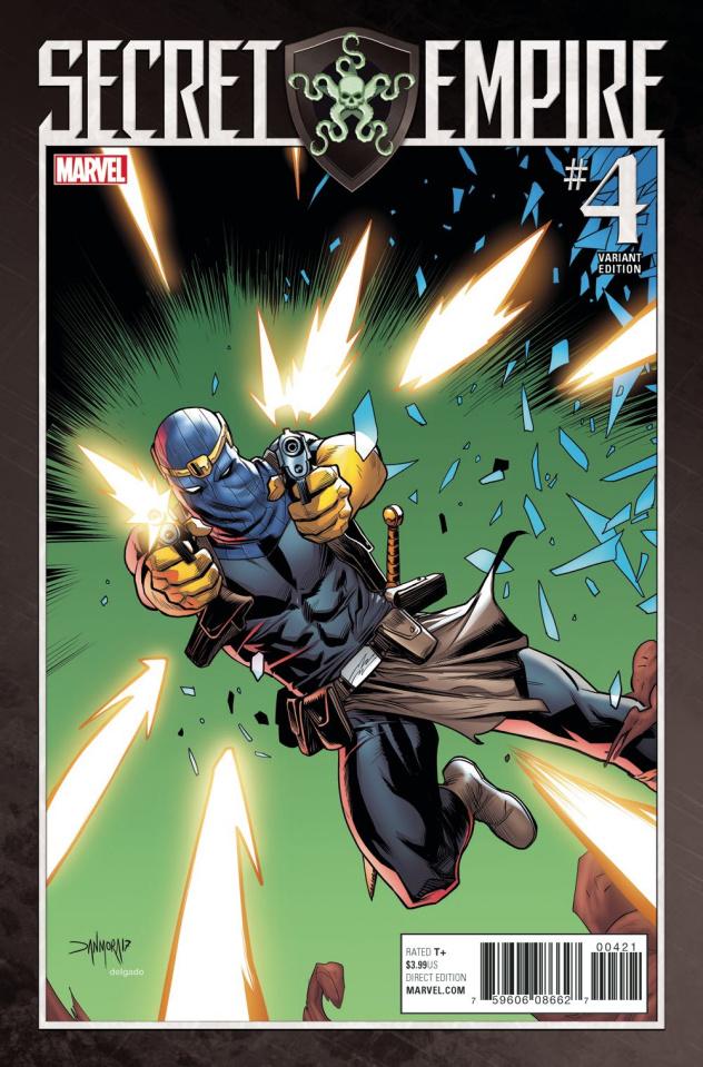 Secret Empire #4 (Mora Villain Cover)
