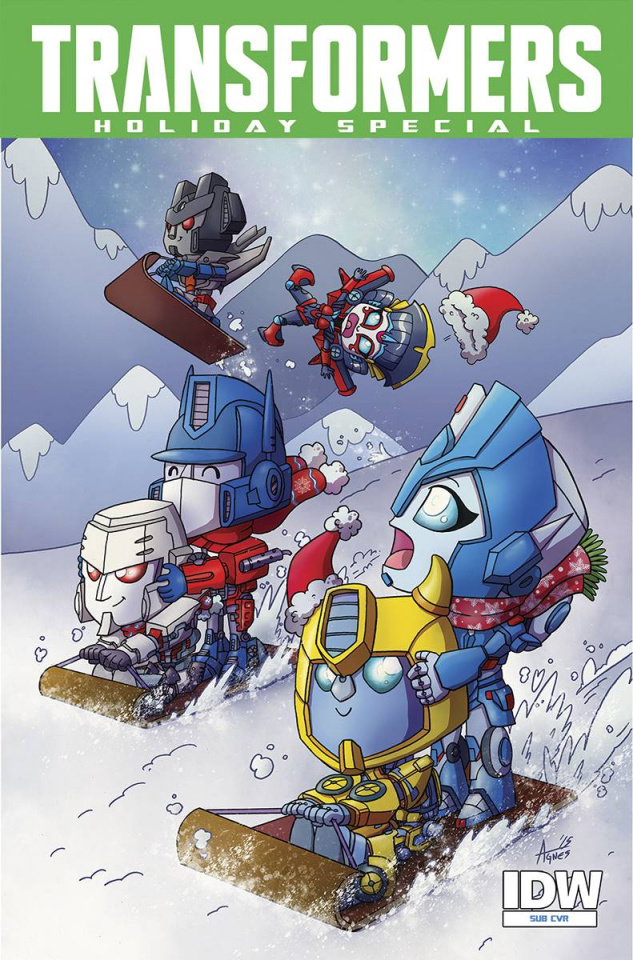 The Transformers Holiday Special (Subscription Cover)