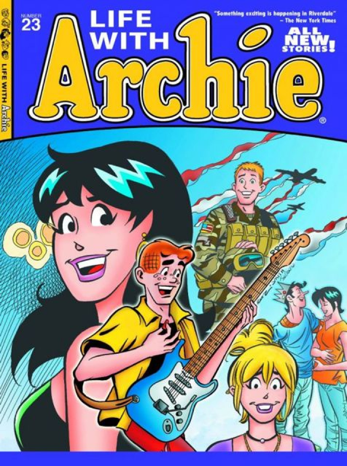 Life With Archie #23 (Ruiz Cover)
