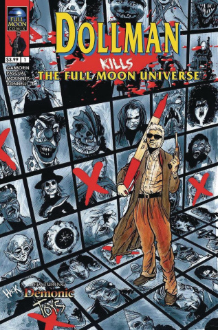 Dollman Kills The Full Moon Universe #1 (Hack Cover)