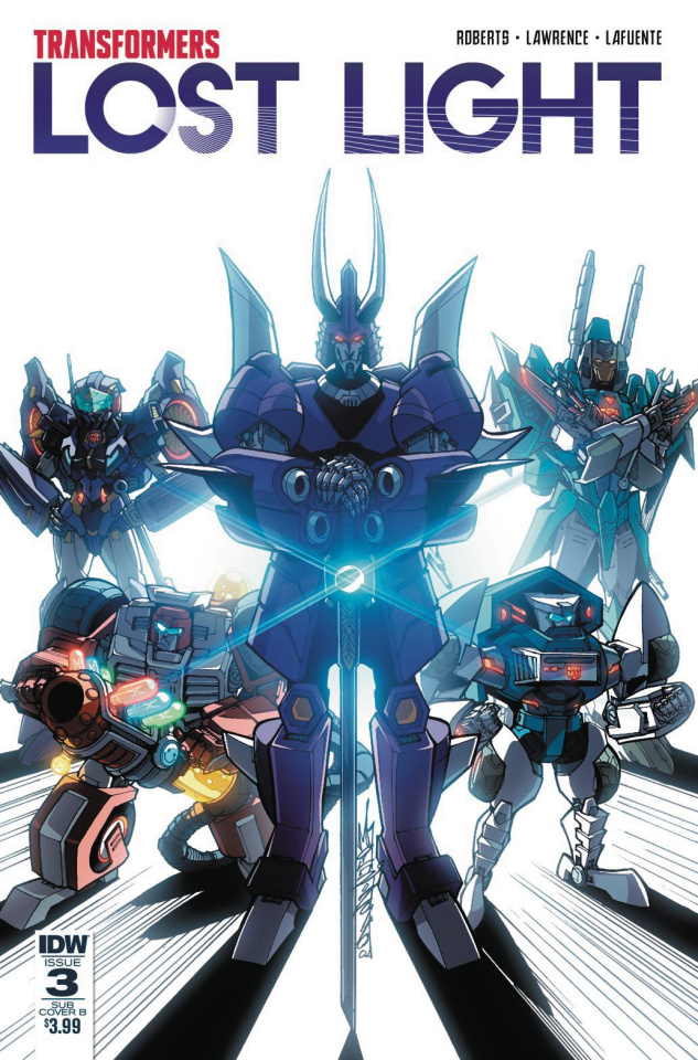 The Transformers: Lost Light #3 (Subscription Cover)