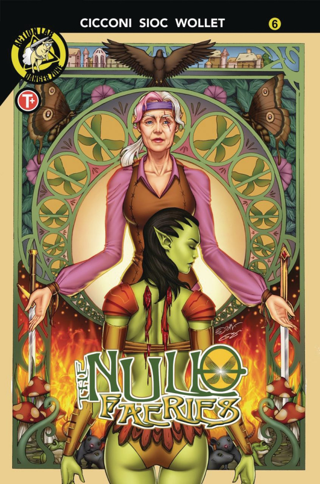The Null Faeries #6 (Suhng Cover)