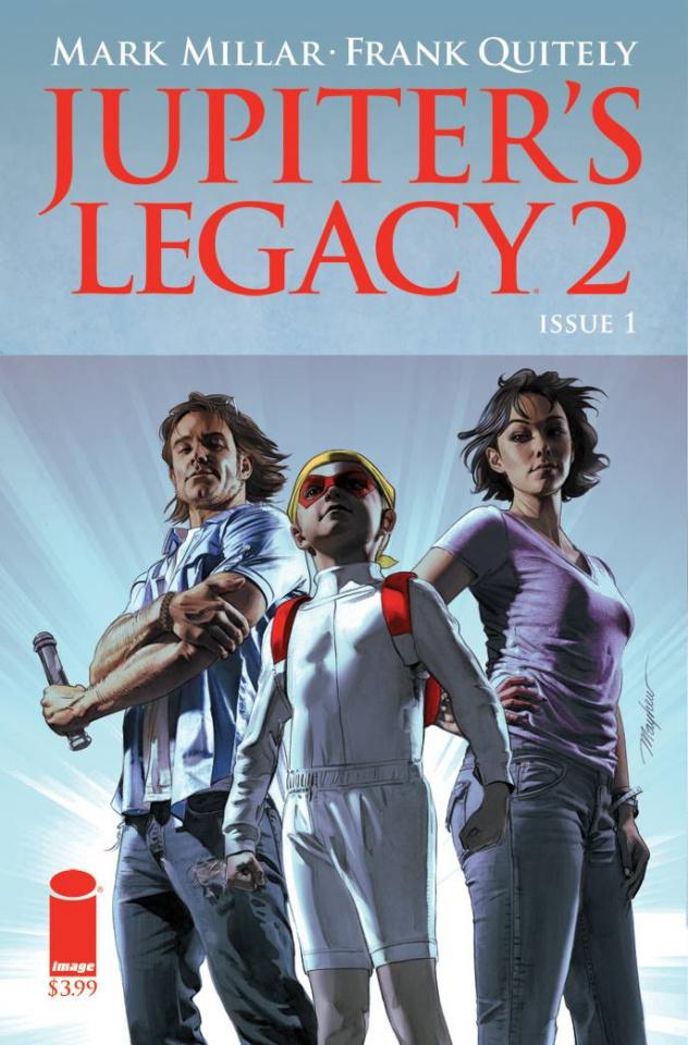 Jupiter's Legacy 2 #1 (Mayhew Cover)