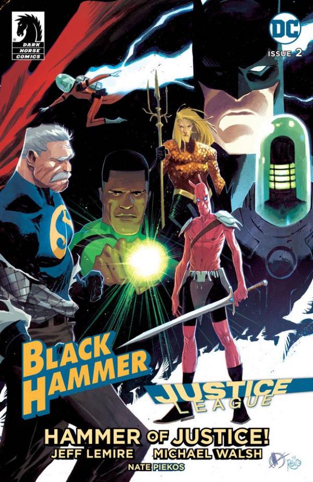 Black Hammer / Justice League #2 (Tedesco Cover)