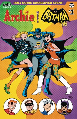 Archie Meets Batman '66 #1 (Jarrell & Fitzpatrick Cover)