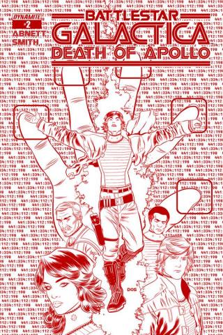 Battlestar Galactica: Death of Apollo #2 (25 Copy Smith Cylon Cover)