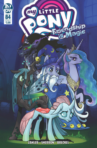 My Little Pony: Friendship Is Magic #84 (Kuusisto Cover)