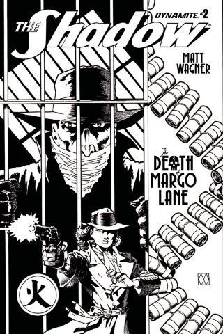 The Shadow: The Death of Margo Lane #2 (10 Copy B&W Cover)