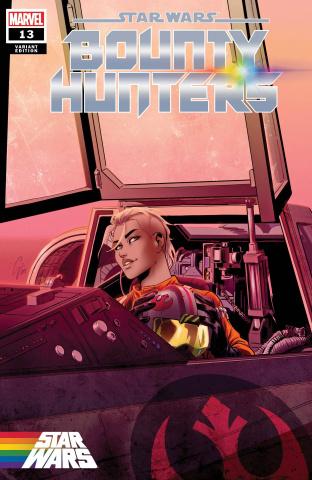 Star Wars: Bounty Hunters #13 (Camagni Pride Cover)