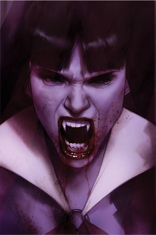 Vengeance of Vampirella #11 (Oliver Virgin Cover)